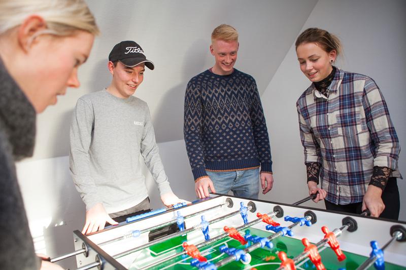 College-elever på Fjerritslev Gymnasium