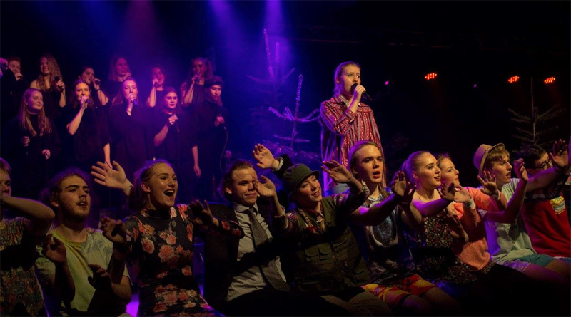 Musical på Fjerritslev Gymnasium