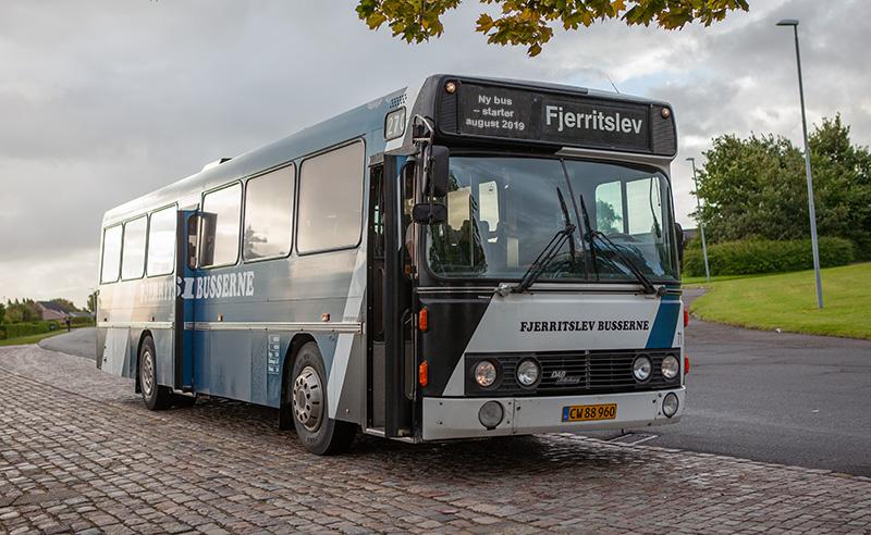 Bus fra Aabybro til Fjerritslev Gymnasium