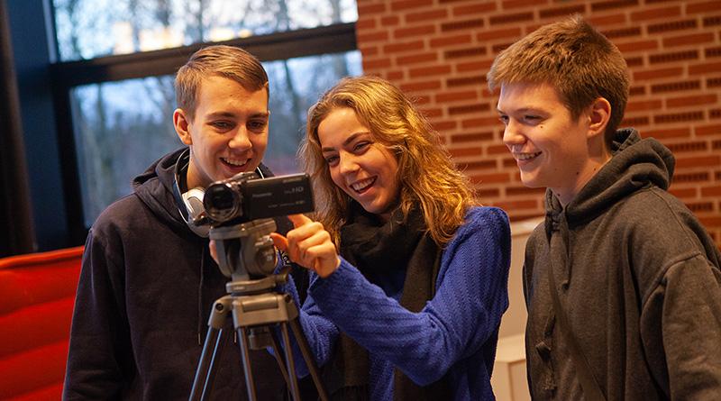 Mediefagsundervisning på Fjerritslev Gymnasium